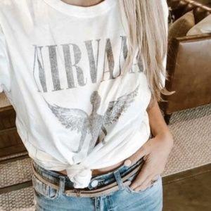 NIRVANA Vintage look graphic tee